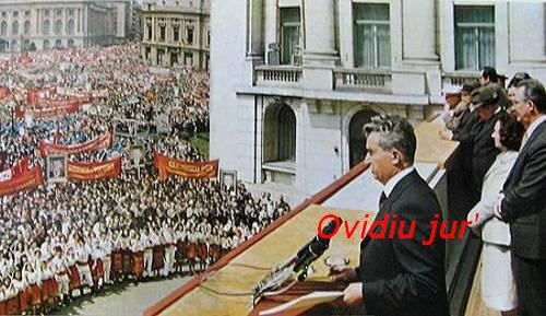 Nicolae Ceausescu in21 august 1968